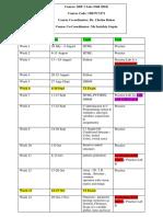 2018 Weekwise SDF 1 Lab Plan