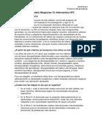 Qué Es El Modelo RTI
