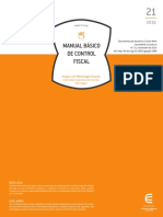 Manual Control Fiscal