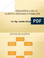 Como Desarrollar la Huerta Orgánica Familiar