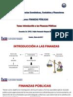 01 Aspectos Generales de Las Finanzas Públicas - 2018 I