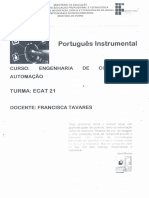 Apostila Portugues ECAT
