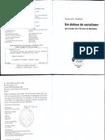 Fernando Haddad - Em Defesa Do Socialismo_ Por Ocasião Dos 150 Anos Do Manifesto (1998, Editora Vozes)