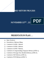 PPT on Return Process