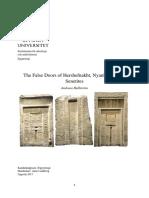 False Door, Vipin Mythodology
