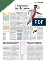 La Provincia Di Cremona 18-10-2018 - Serie B