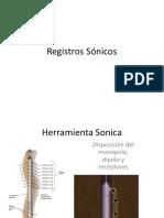 REGISTRO SÓNICOS