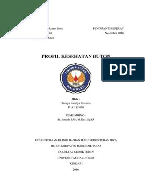 Profil Kesehatan Kabupaten Buton Buton Tengah Buton Utara Dan Buton Selatan