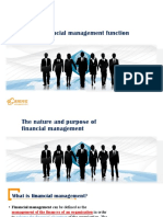 1 Financial Management Function