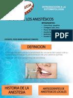 Intro Historia de Los Anestésicos