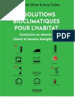 12 Solution Bioclimatiques Pour l'Habitat
