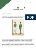 Evolução Das Milícias - Parte 6 _ as Milícias Na Guerra de 1801