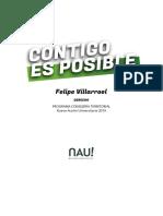 Programa Consejería Territorial Felipe Villarroel - Nueva Acción Universitaria