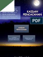 KAIDAH PENCACAHAN