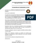 Campeonato 2018 28octubre Apt. DALLYON ITF
