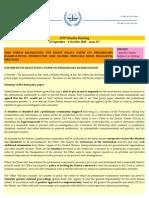 OTP Weekly Briefing - 28 September - 4 October 2010 - Issue #57