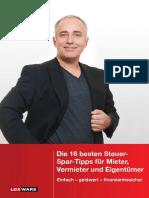Steuertipps Mieter