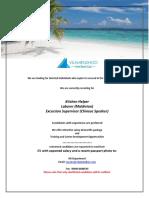 Job Maldives 101818