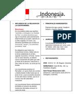 Ficha Tecnica Indonesia