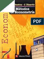 Métodos de Econometría DINARDO