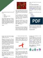 HIV Brochure