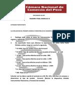 Evaluación Módulo Vi - Niif