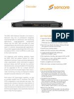 MRD 4400 Receiver Decoder v19