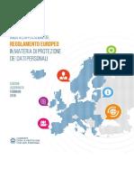 GDPR Regolamento UE 2016 679