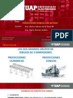 Dibujo Arquitectonico 3 Proyecciones Conicascon Metodo SOMBRAS