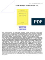 Etica Sociale Famiglia Lavoro e Società Ediz Bilingue