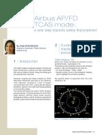 Airbus AP Fd Tcas Mode