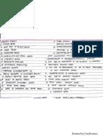 Ratio Analysis Formulas