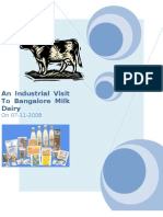 Banfalore Dairy Report Final
