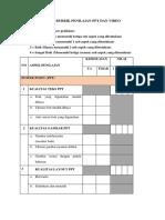 Rubrik Penilaian PPT Dan Video