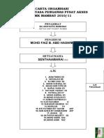 Carta Organisasi Pengawas Pusat Akses 2010