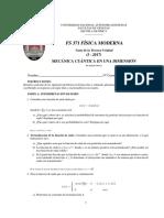 Mecanica Cuc3a1ntica en Una Dimension