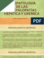 FISIOPATOLOGIA ENCEFALOPATIAS HEPATICA Y UREMICA