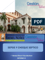 Sepsis y Choque Septico - Randy Frias Cx Gestion Salud, Curn Ip-2018