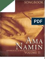Ama Namin Songbook 2 - Dumlaodertyuio
