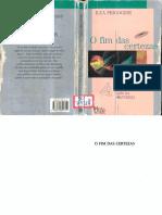 Ilya Prigogine O Fim Das Certezas Sao Paulo Editora Unesp 1996 (1)