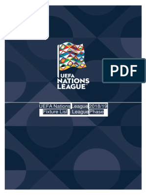Uefa Nations League 2018 2019 National Sports Teams Sports Organisations