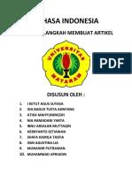 Bahasa Indonesia Artikel