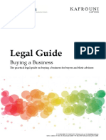 Buying a business legal documents