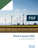 ZZ WindEurope Annual Statistics 2017