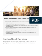Growth Plate Injuries