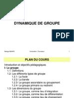DYNAMIQUE DE GROUPE