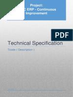 Template Tech Spec