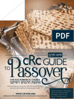 Pesach Guide 2016