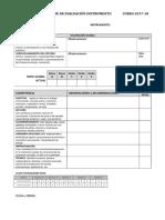 Informe Instrumento Efcm 2018