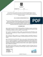 Proyecto Decreto regulación Ambulancias